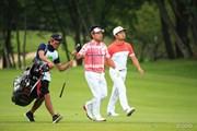 2016年 ダンロップ・スリクソン福島オープンゴルフトーナメント 3日目 時松隆光、岩本高志
