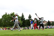 2016年 ダンロップ・スリクソン福島オープンゴルフトーナメント 3日目 藤田寛之、宮本勝昌、キム・スンヒョグ