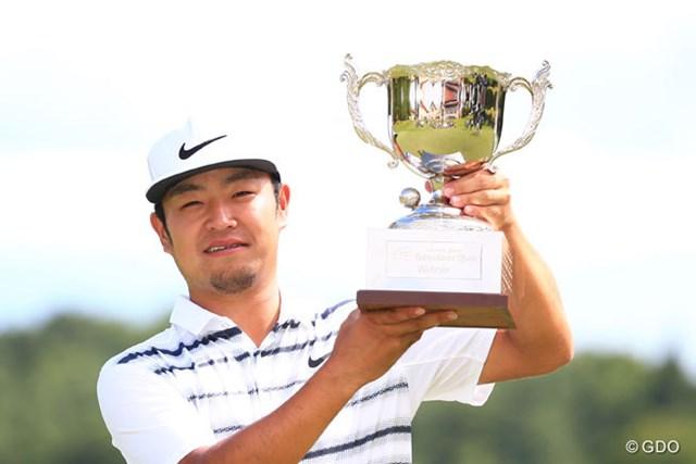 2016年 ダンロップ・スリクソン福島オープンゴルフトーナメント 最終日 時松隆光 ツアー初優勝を飾った22歳の時松隆光