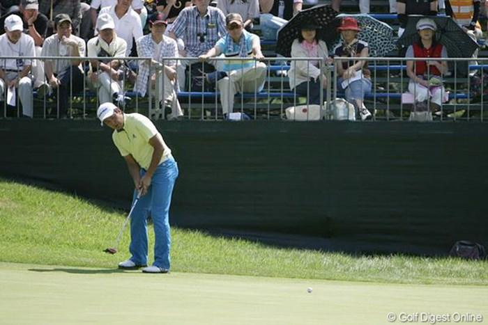 コースレコードの「62」を叩き出し、「明日からボロが出ないように」 2009年 関西オープン 初日 富田雅哉