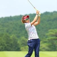 カッコイイ美寿々ちゃんにはカッコイイサングラスが似合うね。 2016年 センチュリー21レディスゴルフトーナメント 最終日 成田美寿々