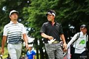 2016年 ダンロップ・スリクソン福島オープンゴルフトーナメント 最終日 時松隆光、岩本高志