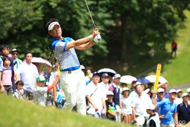 2016年 ダンロップ・スリクソン福島オープンゴルフトーナメント 最終日 藤田寛之 昨日の調子なら逆転もあり得ると思ってたんですけど