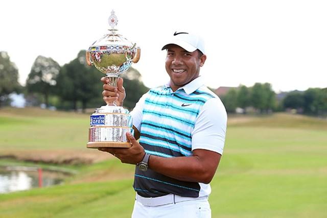 5季ぶりの勝利を挙げたジョナサン・ベガス(Vaughn Ridley/Getty Images)
