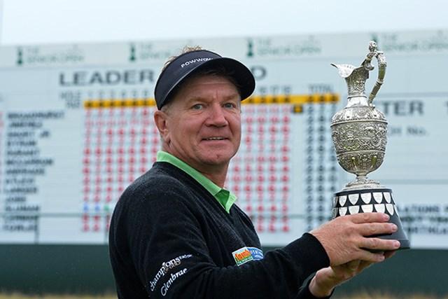 逆転で優勝したポール・ブロードハースト(Mark Runnacles/Getty Images)