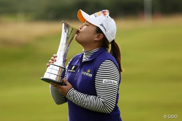 昨年は朴仁妃が全英初優勝。今年は8人の日本勢が出場