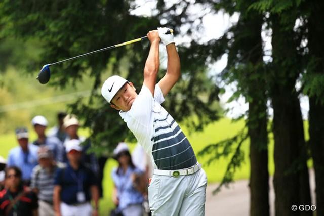 2016年 ダンロップ・スリクソン福島オープンゴルフトーナメント 最終日 時松隆光 プロ5年目で初勝利を掴んだ時松隆光は、昨年からナイキゴルフと用具契約を締結