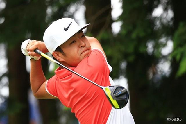 2016年 ダンロップ・スリクソン福島オープンゴルフトーナメント 最終日 時松隆光 ツアー初優勝を飾った時松隆光は、前週1232位から394位にランクアップ