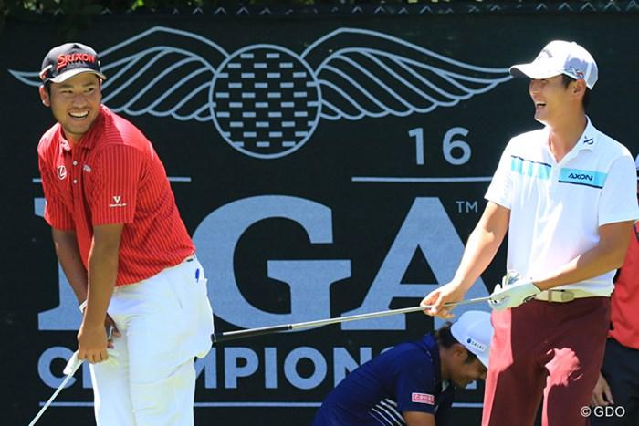 結局、この2人はとっても仲が良いんです 2016年 全米プロゴルフ選手権 事前 松山英樹 ダニー・リー