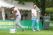 2016年 ネスレインビテーショナル 日本プロゴルフマッチプレー選手権 レクサス杯 2日目 藤田寛之&時松隆光