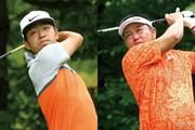 2016年 ネスレインビテーショナル 日本プロゴルフマッチプレー選手権 レクサス杯 最終日 時松隆光(左)&小田龍一