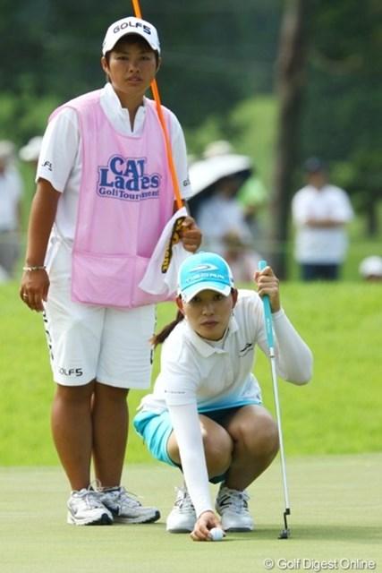 2009年 CAT Ladies 2日目 イム・ウナ 着々と順位を上げてきたイム・ウナ。今季初勝利のチャンスを掴んでいる