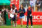 2016年 全英リコー女子オープン 最終日 西山ゆかり