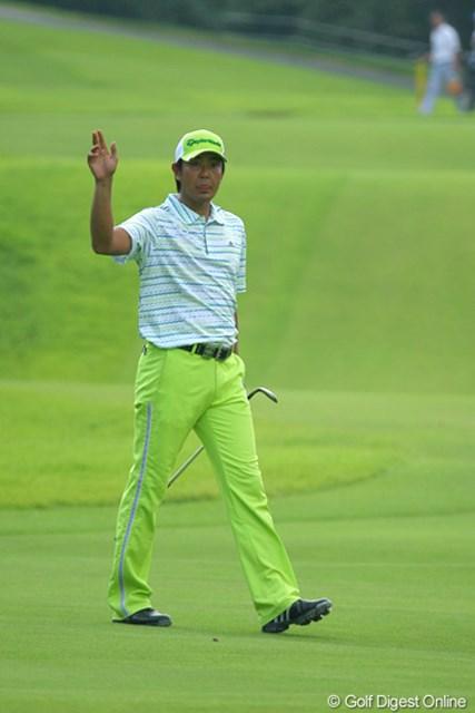 調子は悪いと言い続けている富田雅哉だが…。首位タイで最終日を迎える