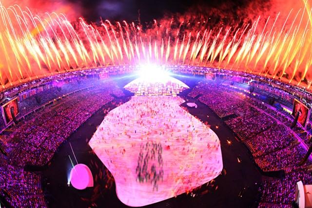リオデジャネイロ五輪の開会式。素晴らしい演出とメッセージを世界に届けた。(Richard Heathcote/Getty Images)
