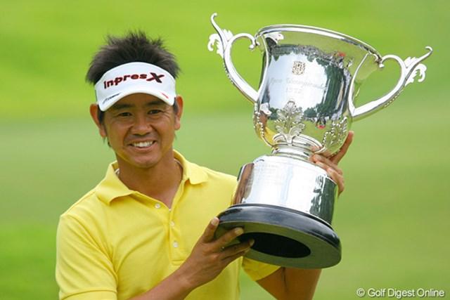 自身初の年間複数回優勝を達成した藤田寛之。次はメジャーと意気込む