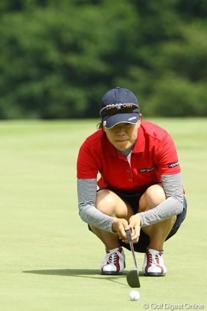 2009年 CAT Ladies 最終日 大山志保 次回、日本女子プロ選手権で期待してます。