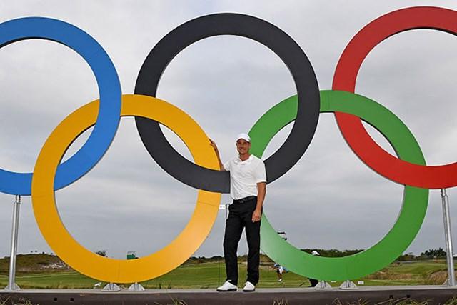 2016年 リオデジャネイロ五輪 事前 ヘンリック・ステンソン 気持ちの高ぶりを見せるヘンリック・ステンソン。金メダルの最終力候補か(Ross Kinnaird/Getty Images)