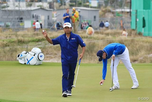 池田勇太は粘りのゴルフでアンダーパーでプレーした