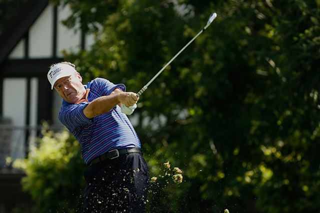 PGAツアー7勝のシンデラーが首位に浮上した(Gregory Shamus/Getty Images)