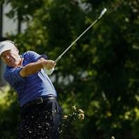 PGAツアー7勝のシンデラーが首位に浮上した(Gregory Shamus/Getty Images) 2016年 全米シニアオープン選手権 2日目 ジョーイ・シンデラー