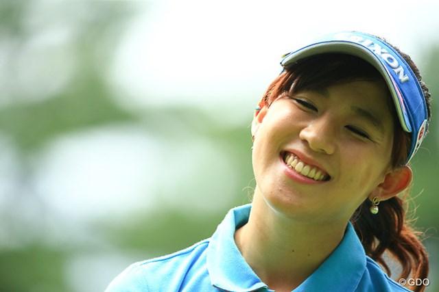 2016年 NEC軽井沢72ゴルフトーナメント 2日目 香妻琴乃 最近笑顔が戻ってきておじさんは安心している