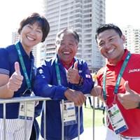 小林浩美さんもリオに到着!さっそくコースに顔を出した 2016年 リオデジャネイロ五輪 3日目 小林浩美