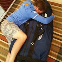 紆余曲折の末にバッグが届きこの一枚※グリージョのtwitterより 2016年 リオデジャネイロ五輪 3日目 エミリアーノ・グリージョ