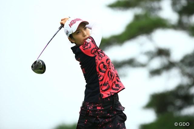 2016年 NEC軽井沢72ゴルフトーナメント 最終日 笠りつ子 優勝の笠りつ子、ウッドは最新モデルの『TW727』シリーズを使用