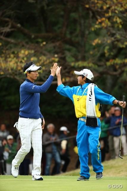 2015年 カシオワールドオープンゴルフトーナメント 最終日 石川遼 石川航 2015年11月のカシオワールドで石川兄弟はタッグを組んで優勝争いを演じた