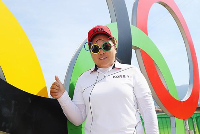2016年 リオデジャネイロ五輪 事前 朴仁妃 五輪出場を決断した朴仁妃。そのプレッシャーは…。(Scott Halleran/Getty Images)