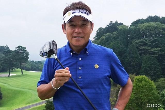 テーラーメイドの新型クラブ投入を決め、尾崎直道は練習ラウンドでそのポテンシャルを確認した