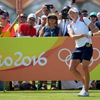 2位から五輪の残り2日間を戦うステーシー・ルイス※IGF提供 2016年 リオデジャネイロ五輪 2日目 ステーシー・ルイス