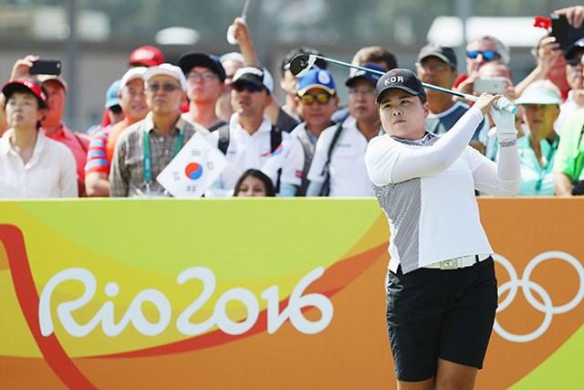 怪我を心配された朴仁妃が金メダルに王手(Scott Halleran/Getty Images)