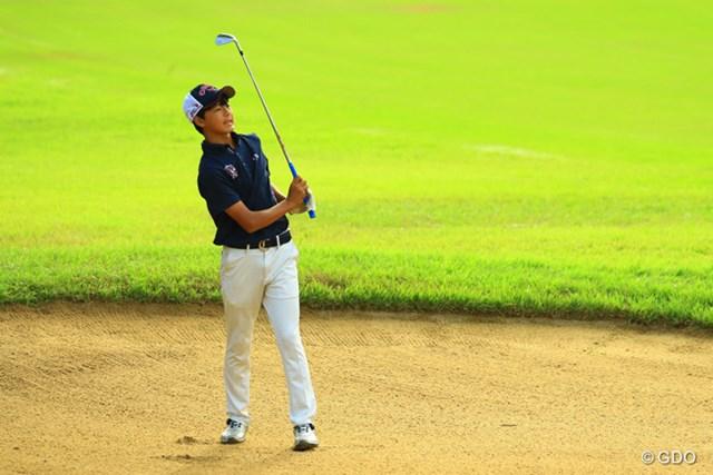 2016年 RIZAP KBCオーガスタゴルフトーナメント 初日 石川航 ツアーデビュー初日は「82」。最下位で終えた石川航