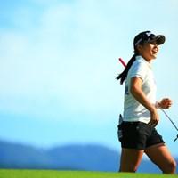 上がりの顔がとても清々しかったので 2016年 ニトリレディスゴルフトーナメント 初日 中尾春陽