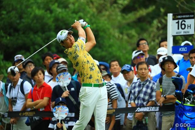 かつての力強いスイングを取り戻しつつある石川遼。単独首位で決勝ラウンドへ折り返した