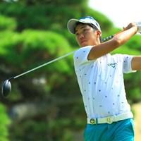 今日はスコアを2つ伸ばして9位タイに。地元福岡県出身の若手です。 2016年 RIZAP KBCオーガスタゴルフトーナメント 2日目 和田章太郎