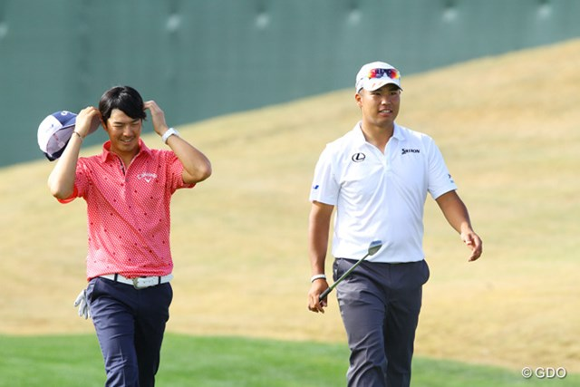 松山英樹は石川遼をパートナーに指名。信頼し合う2人で優勝を目指す※撮影は2015年フェニックスオープン