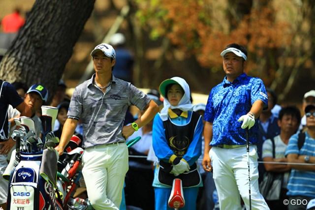 2人が一緒だと、2009年武蔵CC豊岡Cで行われた日本オープンゴルフを思い出しますね。