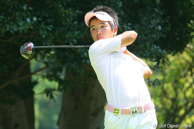 日本アマ2位の実績を引っさげ、最年少予選通過を目指す伊藤誠道