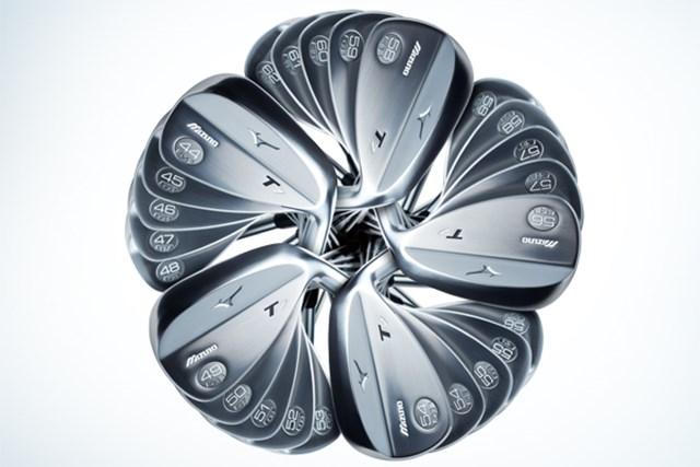 25種類のバリエーションがある軟鉄鍛造ウェッジ「ミズノ T7」