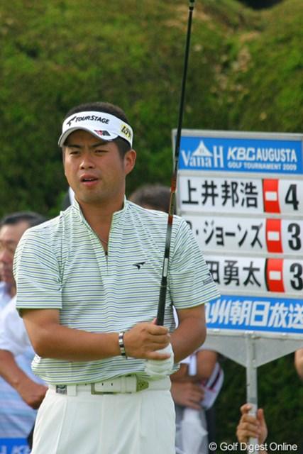 4連続バーディで前半を31でラウンドした池田勇太は暫定8位タイ