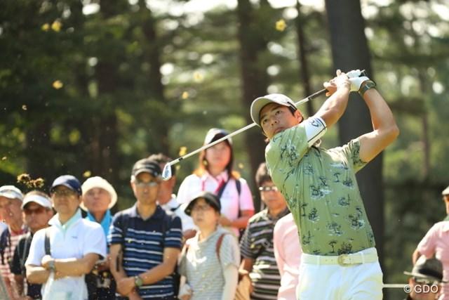 上位で決勝ラウンド進出を決めた石川遼