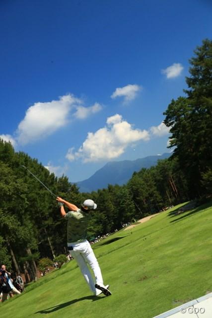 向こう側に富士山をー!