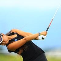ポーラ・クリーマー、ナタリー・ガルビスと並び、世界三大フレームアウト危険人物です。 2016年 ゴルフ5レディス プロゴルフトーナメント 2日目 平野ジェニファー
