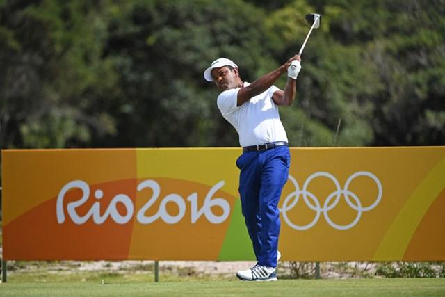 リオデジャネイロ五輪では、母国バングラデシュ代表の旗手を務めたシディクール・ラーマン(提供:IGF Golf/アジアンツアー)