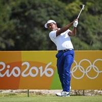 リオデジャネイロ五輪では、母国バングラデシュ代表の旗手を務めたシディクール・ラーマン(提供:IGF Golf/アジアンツアー) 2016年 リオデジャネイロ五輪 シディクール・ラーマン