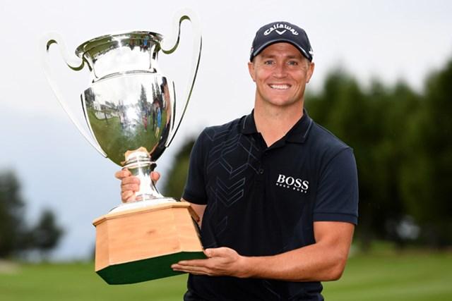 アレックス・ノレンがツアー通算6勝目を挙げた(Ross Kinnaird/Getty Images)