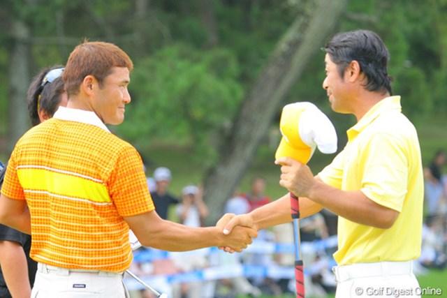 丸山茂樹と伊澤利光。ワールドカップ優勝コンビは揃って予選で姿を消した